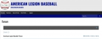 Legion Baseball Forums